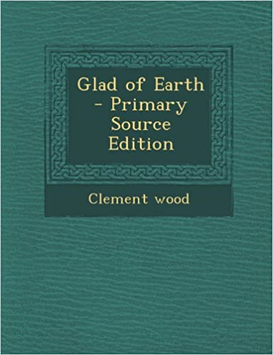 Book Glad of Earth