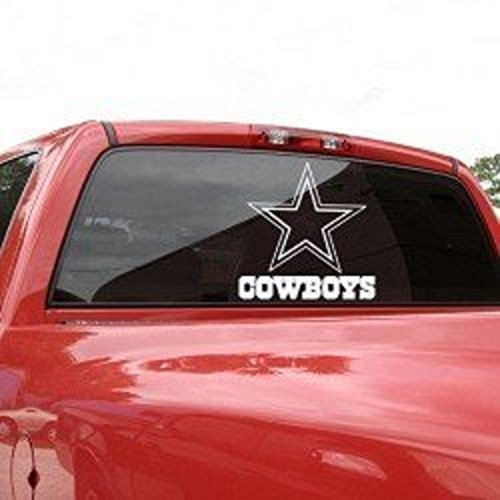 "DALLAS COWBOYS 18"" x 18"" Team Logo Self-Adhesive DIECUT DECAL"