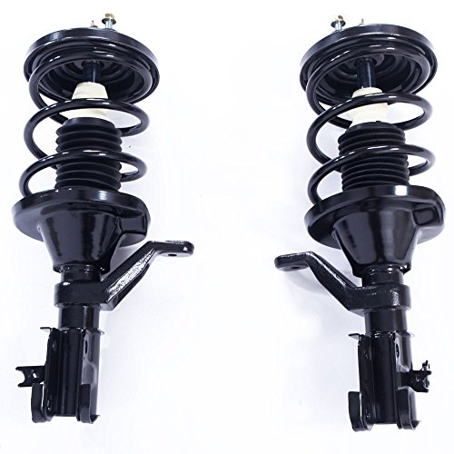 MILLION PARTS 2 Pcs Front Complete Strut Shock Absorber Assembly 172185 172186 for Honda 2003 2004 2005 Civic ()