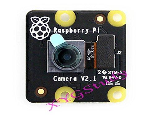 RPi NoIR Camera V2, Official Raspberry Pi Infrared Night Vision Camera Module V2.1 IMX219 8-megapixel sensor 3280 × 2464 1080p30 for NEW Raspberry Pi 3 2 Model B B+ @XYGStudy (Noir Module Pi Raspberry Camera)