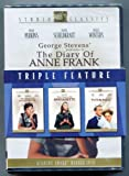 Triple Feature DVD Set ** Diary of Anne Frank ** the Song of Bernadette ** Titanic (Clifton Webb) ALL Rated Pg