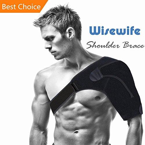 Shoulder Brace - Shoulder Support Sleeve for Arthritis Sports Women and Men...