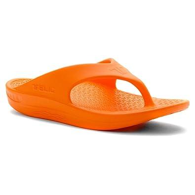 51c1490759a Telic   Terox Flip Flop Sandal Shoes Color Sweet Tangerine Various Sizes  (3XL)