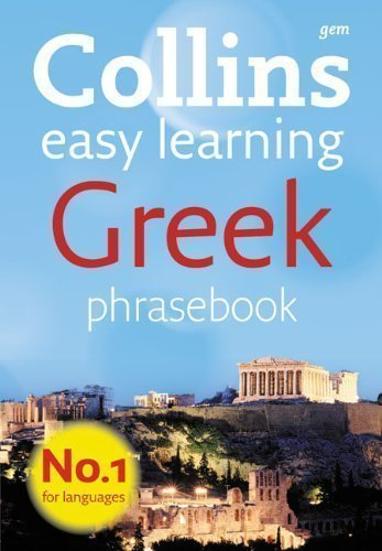 - Collins Greek Phrasebook (Collins Gem) by Collins Uk Third edition (2010)
