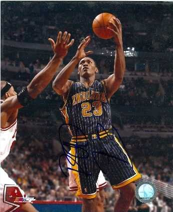 Image Unavailable. Image not available for. Color  Ron Artest autographed  8x10 Photo (Indiana Pacers) e3df4e919