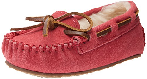 Minnetonka Cassie Slipper (Toddler/Little Kid/Big Kid),Hot Pink,8 M US - Kids Minnetonka