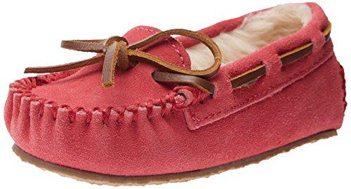 Minnetonka Cassie Slipper (Toddler/Little Kid/Big Kid),Hot Pink,8 M US - Minnetonka Kids