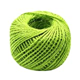 Hand Knitting Hemp Rope DIY Satin Ribbon Decorative Riband Twine F