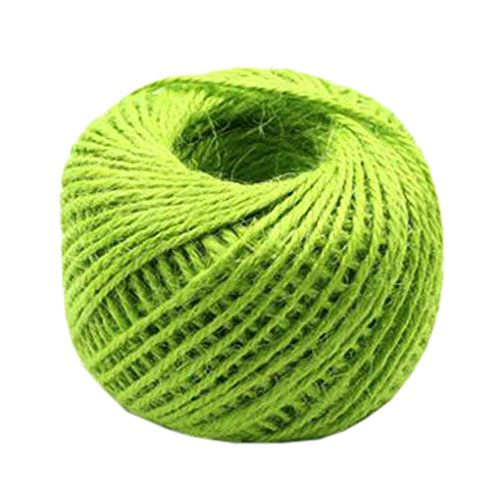 Hand Knitting Hemp Rope DIY Satin Ribbon Decorative Riband Twine F by Kylin Express