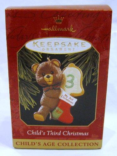 Hallmark 1997 Child's Third Christmas Keepsake Ornament QX6505