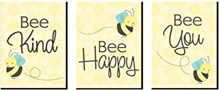 product image for Big Dot of Happiness Honey Bee - Nursery Wall Art and Kids Room Decorations - Gift Ideas - 7.5 x 10 inches - Set of 3 Prints