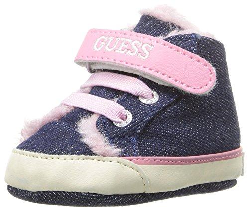 Guess Kids Shoes (GUESS Girls' Filona 3 Sneaker, Blue, 16 EU/1 M US Infant)