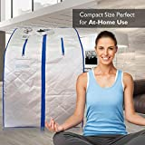 SereneLife Portable Infrared Home Spa, One Person