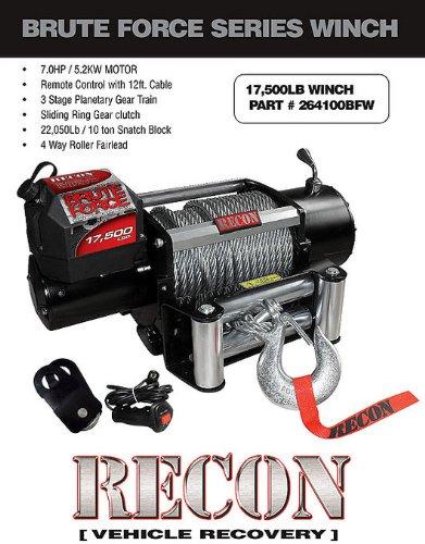 Recon 264100BFW Electric Winch