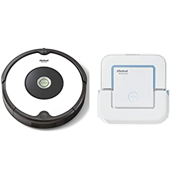 iRobot - Set con Roomba 605 Robot Aspirador para Suelos Duros y ...
