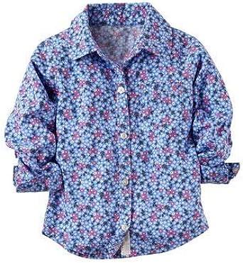 Carters - camisa Bebe - Blue, 12 meses, Clothing: Amazon.es: Ropa y accesorios