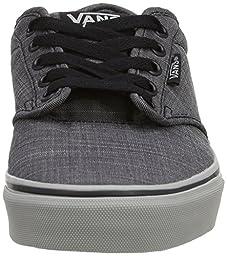 Vans Men\'s Atwood (F14 Textile) Black/Grey Skate Shoe 9.5 Men US