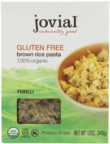 Pasta Favorite - Jovial Fusilli Gluten Free Pasta, 12 oz (Pack of 6)