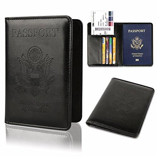 GDTK Leather Passport Holder Blocking product image