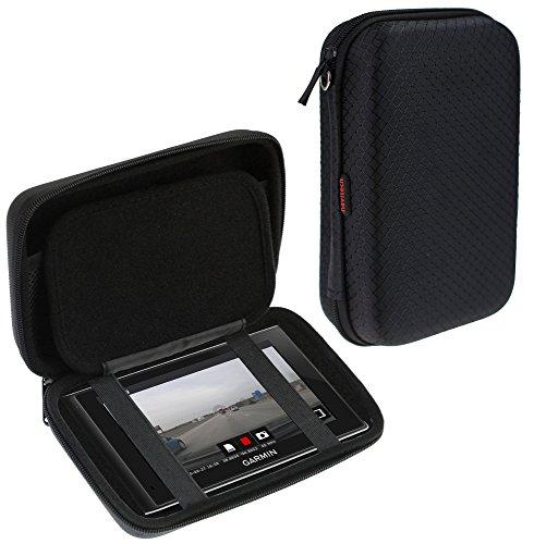 Navitech Black Hard Carry Case / Cover For The Garmin dezlCam / Garmin nuviCam