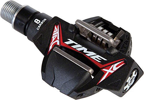 TIME ATAC XC 8 Carbon Pedals Red/Black, One Size by Time