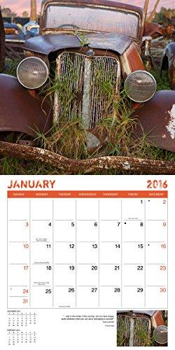 Rust 2016 Wall Calendar (8940048) Photo #3