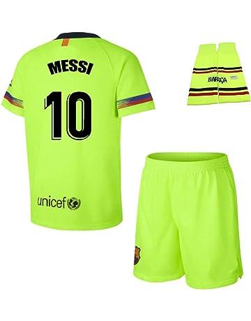 Personalizador Conjunto Complet Infantil FC Barcelona Réplica Oficial  Licenciado de la Segunda Equipación Temporada 2018- 9400374ab8d10