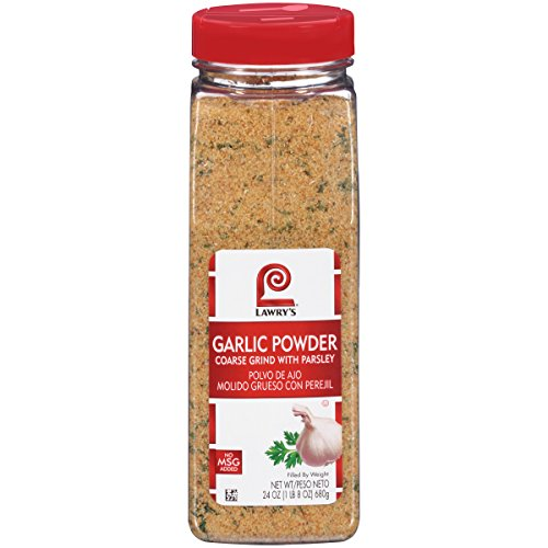 Lawry's Garlic Powder Coarse Grind With Parsley, 24 - Parsley Powder Leaf