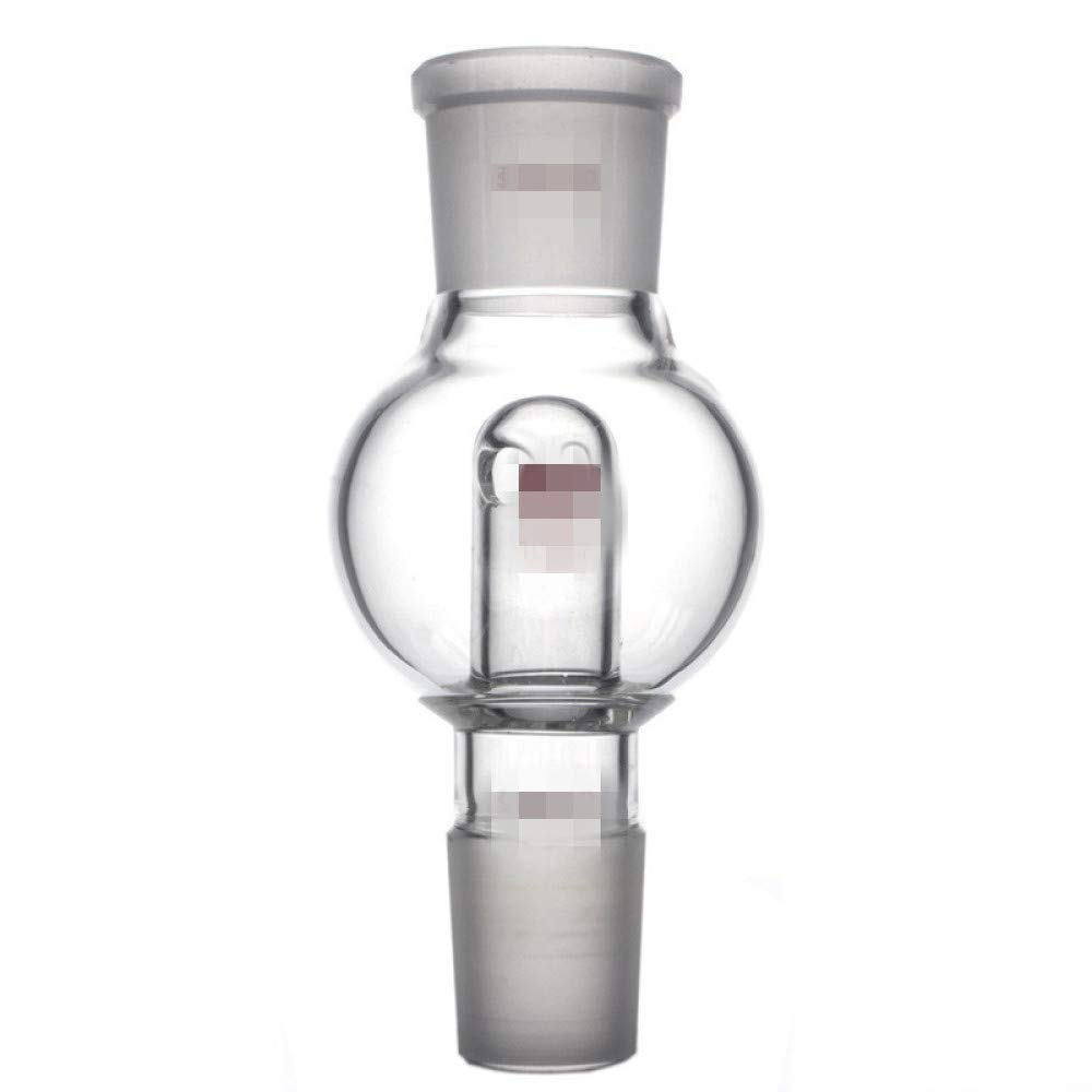 juler Glassware Labware Analytical Chemistry Straight Splash Proof Ball Splash Ball 100 250ml Upper Mouth 24 29 Lower Mouth 14 19 24 Rotary Evaporator,100Ml,29/24