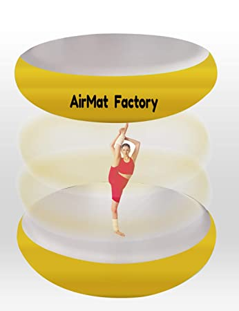 Amazon.com: AIRMAT FACTORY Airspot Gymnastics Airtrack ...