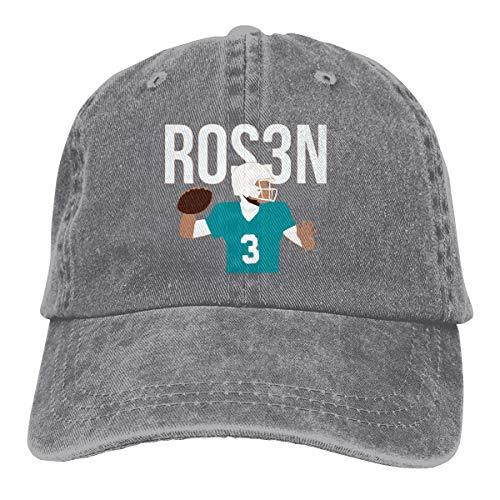 Moore Me Adjustable Baseball Cap Miami Rosen Throwing Cool Snapback Hats Gray