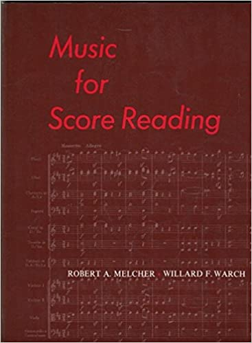 Music For Score Reading 1st Edition By Robert A Melcher