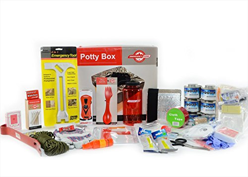 Deluxe Survival Bug In Bag Kit - Stay Home Family Emergency Supplies - Sanitation, Fuel, Water, Hygiene & First Aid