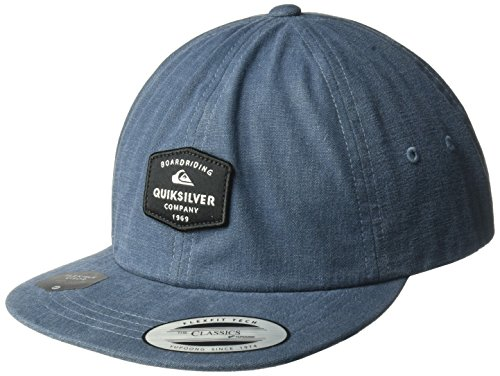 Quiksilver Men's Solorbrite Trucker Hat, Navy Blazer, One - Visor Quicksilver