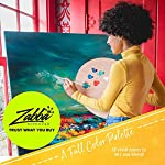 Crafts 4 All Acrylic Paint Set - 12 Paints for Canvas, Wood, Ceramic, Fabric - Non Toxic, Vibrant Pigments for Beginners…
