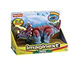 : Fisher-Price Imaginext Adventures Raider Trample the Triceratops