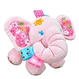 Pull Music Elephant Doll Stuffed Plush Toy Pink