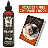 Most Effective Dog Ear WASH - Mister Bens - Voted The Best Dog Ear Cleaner - Provides Fast Relief from Dog Ear Infections, Irritations, Itching, Odors, Bacteria, Mites, Fungus & Yeast
