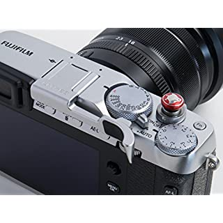 Lensmate Thumb Grip for Fujifilm X-E3 - Silver