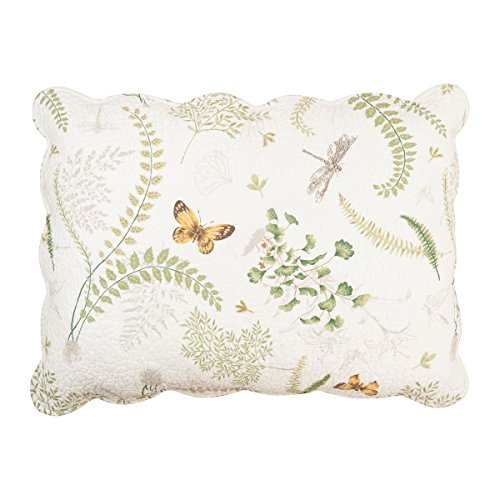 "C&F Home Fern Garden Quilted Sham Sham 20"" x 26"" 20x26 in. Multi from C&F Home"