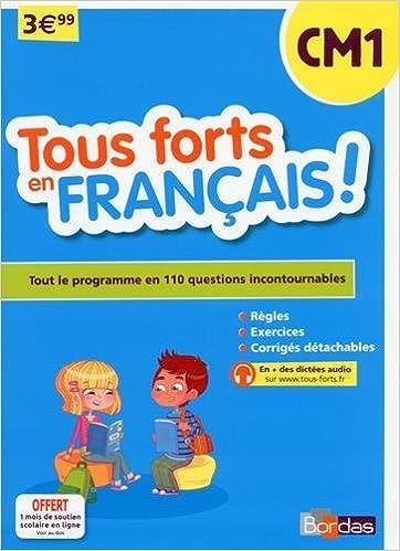 Tous forts en Français CM1 pdf, epub ebook