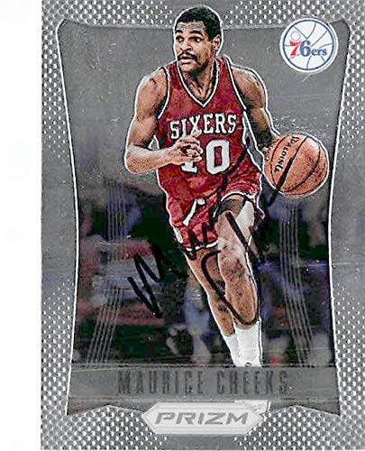 5c26d5daf440 Amazon.com  Maurice Cheeks autographed basketball card (Philadelphia 76ers)  2012 Prizm Chrome  158 - Unsigned Basketball Cards  Sports Collectibles