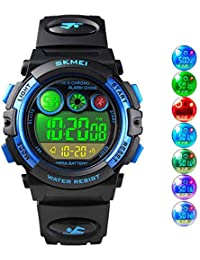 Boys Sport Digital Watch Kids Multifunction Outdoor...
