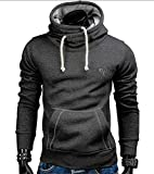 Memoriesed 2018 New Spring Autumn Hoodies Men Fashion Brand Pullover Solid Color Turtleneck Sportswear Sweatshirt