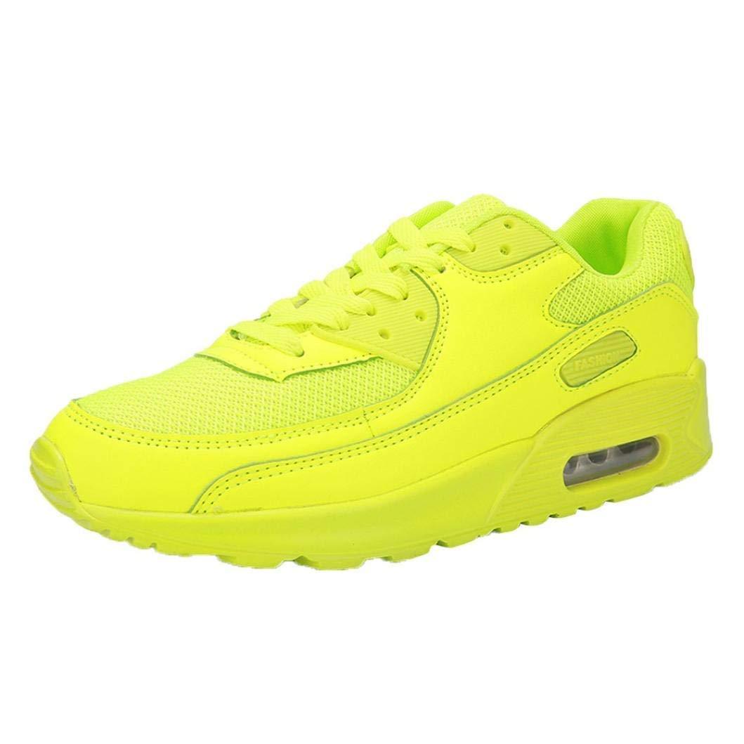 Qiusa Zapatos Deportivos de Pareja Zapatos Deportivos para Correr Zapatos Deportivos para Correr Zapatillas Deportivas de Viaje (Color : Amarillo, tamaño : 7 UK): Amazon.es: Hogar