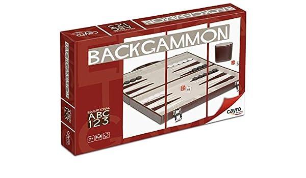 Cayro - Backgammon - Juego de razonamiento y Estrategia - Juego de ...