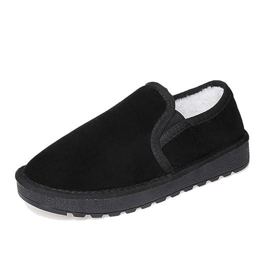 Plates Fourrées Chaussures Paresseux NkVdBqC