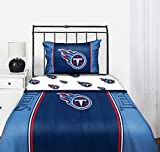 Tennessee Titans NFL Full Comforter & Sheet Set (5 Piece Bedding)