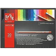 CREATIVE ART MATERIALS Caran D'ache Luminance Colored Pencil Set of 20 (6901.720 )