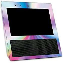 Skin for Amazon Echo Show - Rainbow Zoom | MightySkins Protective, Durable, and Unique Vinyl Decal wrap cover | Easy To Apply, Remove, and Change Styles | Made in the USA